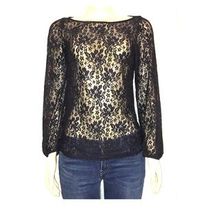 Laundry by Shelli Segal Lace Long Sleeve